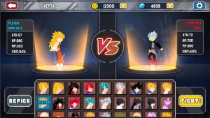 Stickman Warriors Mod Apk – Super Dragon Shadow Fight (Unlimited Power) 6